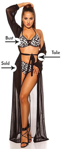 Rochie de zi mulata cu imprimeu