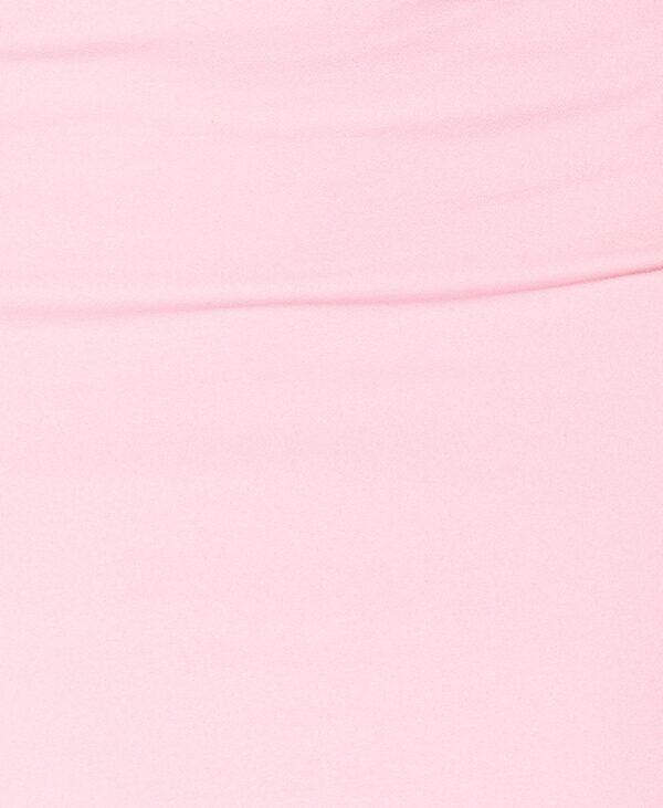 Fusta roz casual conica midi