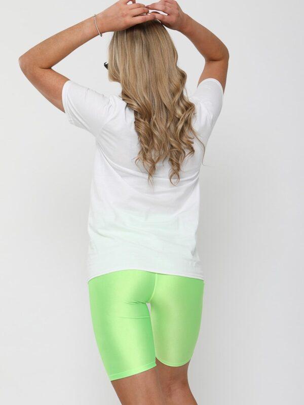 Colanti luciosi verde neon